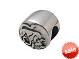 Zable™ Sterling Silver Zodiac-Taurus Bead / Charm style: BZ0402