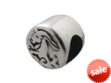 Zable™ Sterling Silver Zodiac-Capricorn Bead / Charm style: BZ0410
