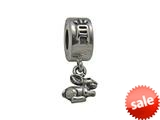 Zable™ Sterling Silver Chinese Zodiac-Rabbit Bead / Charm