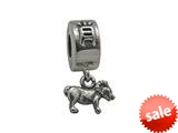 Zable™ Sterling Silver Chinese Zodiac-Sheep Bead / Charm