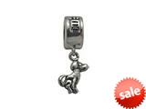 Zable™ Sterling Silver Chinese Zodiac-Dog Bead / Charm style: BZ0432