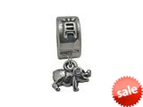 Zable™ Sterling Silver Chinese Zodiac-Pig Bead / Charm style: BZ0433