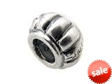 Zable™ Sterling Silver Spacer with Columns Bead / Charm