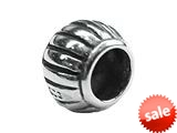 Zable™ Sterling Silver Fluted Spacer Bead / Charm