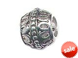 Zable™ Sterling Silver Filigree Spacer Bead / Charm style: BZ0593