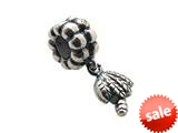 Zable™ Sterling Silver Dangle Palm Tree Bead / Charm