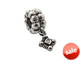 Zable™ Sterling Silver Medium Cross Crystal Dan Bead / Charm