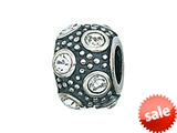 Zable™ Sterling Silver April Crystal Ball Bead / Charm style: BZ0724