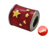 Zable™ Sterling Silver China Enamel Flag Pandora Compatible Bead / Charm style: BZ0961