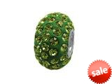 Zable™ Pave Swarovski Crystal Bead August Bead / Charm