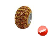 Zable™ Pave Swarovski Crystal Bead November Bead / Charm