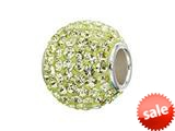 Zable™ Sterling Silver Lemonade Crystals Pandora Compatible Bead / Charm