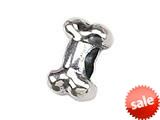 Zable™ Sterling Silver Dog Bone Pandora Compatible Bead / Charm style: BZ1468