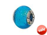 Zable™ Sterling Silver Murano Glass Birthstone- Bead / Charm style: BZ1512