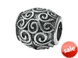 Zable™ Sterling Silver Filigree Spacer Bead / Charm style: BZ1707