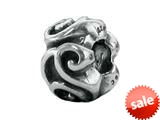 Zable™ Sterling Silver Scroll Spacer Pandora Compatible Bead / Charm style: BZ1721