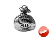 "Zable™ Sterling Silver Money Bag ""$"" Bead / Charm"
