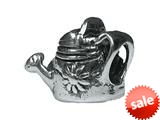 Zable™ Sterling Silver Watering Can Pandora Compatible Bead / Charm style: BZ1747