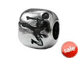 Zable™ Sterling Silver Marshal Arts Bead / Charm