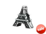 Zable™ Sterling Silver Eiffel Tower Bead / Charm style: BZ1916