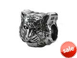 Zable™ Sterling Silver Mascot Tiger 1922 Bead / Charm