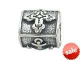 Zable™ Sterling Silver Faith, Hope and Charity Pandora Compatible Bead / Charm style: BZ1941