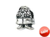 Zable™ Sterling Silver Garden Gnome Bead / Charm style: BZ2098