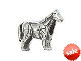 Zable™ Sterling Silver Horse Bead / Charm