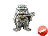 Zable™ Sterling Silver Leprechaun Bead / Charm style: BZ2115