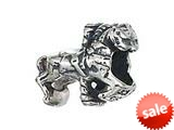 Zable™ Sterling Silver Carousel Horse Bead / Charm style: BZ2140