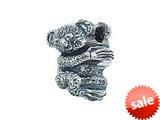 Zable™ Sterling Silver Koala Bear Bead / Charm style: BZ2152