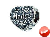 Zable™ Sterling Silver Madre Pandora Compatible Bead / Charm