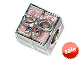Zable™ Sterling Silver Gift Box Bead / Charm style: BZ2228