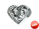 Zable™ Sterling Silver Mother With Child Pandora Compatible Bead / Charm
