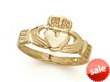14kt Yellow Gold Claddaugh Ring style: CG20210