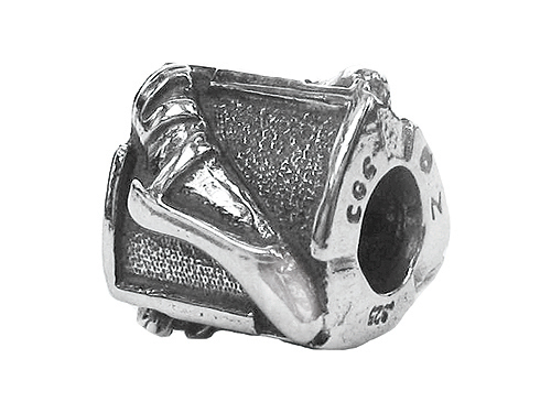 Zable Sterling Silver Ballet Slipper Bead / Charm at Sears.com