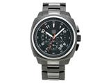 Andrew Marc Heritage Bomber Gunmetal Chronograph Watch