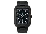 "Andrew Marc Men""s Club Hipster Black 3-Hand Date Watch style: A21401TP"