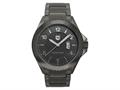 "Andrew Marc Men""s Heritage Roadside Gunmetal 3-Hand Date Watch"