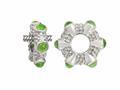 Storywheel® Cab Peridot Ring Bead / Charm