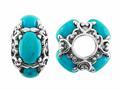 Storywheel® Turquoise Pandora Compatible Bead / Charm
