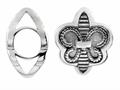 Storywheel  Fleur De Lis Bead/ Charm