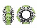Storywheel® Peridot Pandora Compatible Bead / Charm