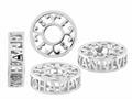 Storywheel® Pierced Anniversary Diamond Pandora Compatible Bead / Charm