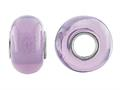 Storywheel Light Purple Glass Bead / Charm