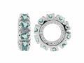 Storywheel® Aquamarine Birthstone Bead / Charm