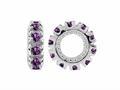 Storywheel® Amethyst Birthstone Bead / Charm