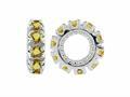 Storywheel® Citrine Birthstone Bead / Charm