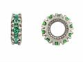 Storywheel® Emerald Birthstone Bead / Charm