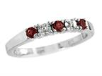 2.5mm Garnet Band / Ring Style number: R8016G
